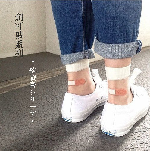 Japanese Band-Aid Ankle Socks -  - Online Aesthetic Shop - 1