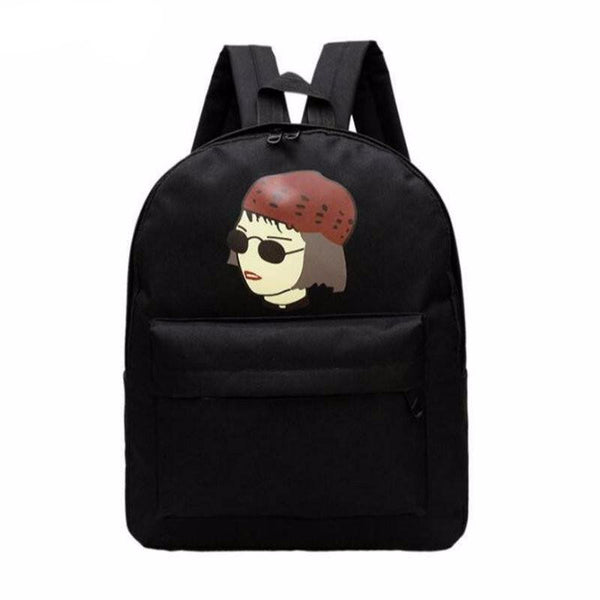 New Women Canvas Backpack -  - Online Aesthetic Shop - 1