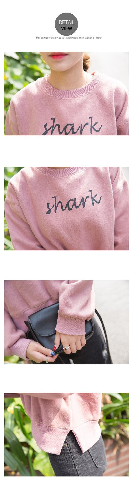Shark Printed Casual Sweatshirts -  - Online Aesthetic Shop - 2