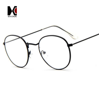 Slim Wire Retro Glasses - Online Aesthetic -  Tumblr Kawaii Aesthetic Shop Fashion