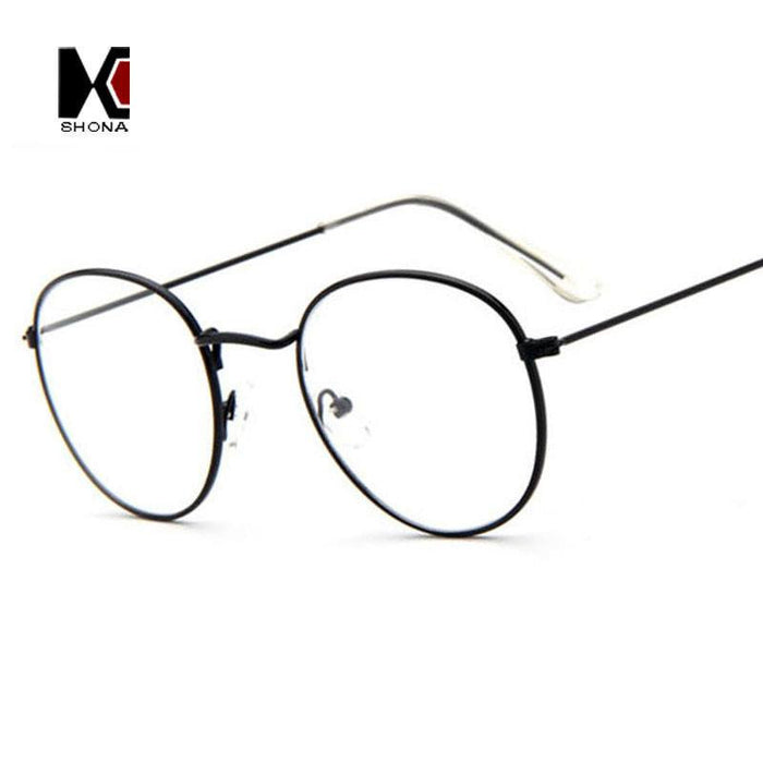 Slim Wire Retro Glasses
