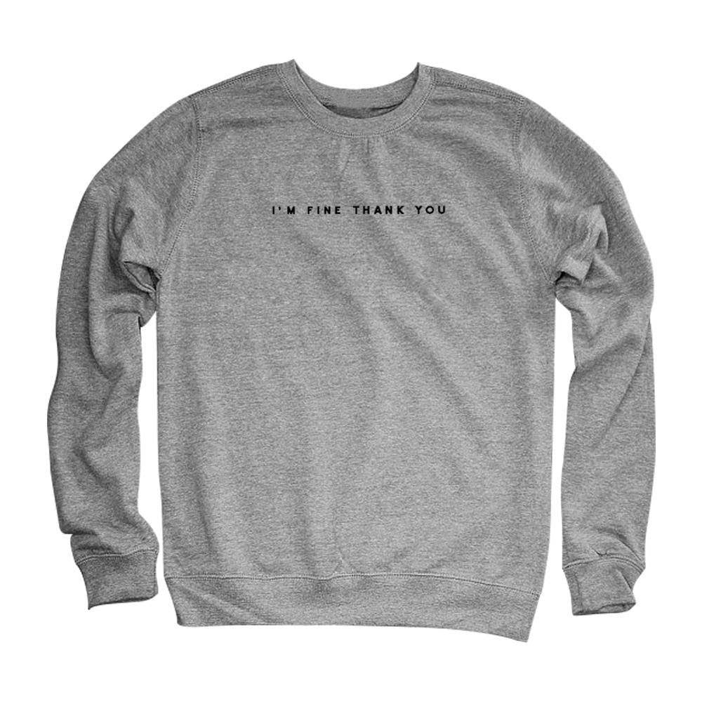 I'm Fine Thank You Pullover -  - Online Aesthetic Shop - 10
