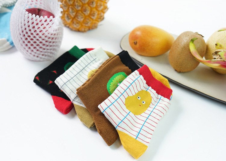 Fruit Socks - Soft Accessories - Online Aesthetic Shop - 12
