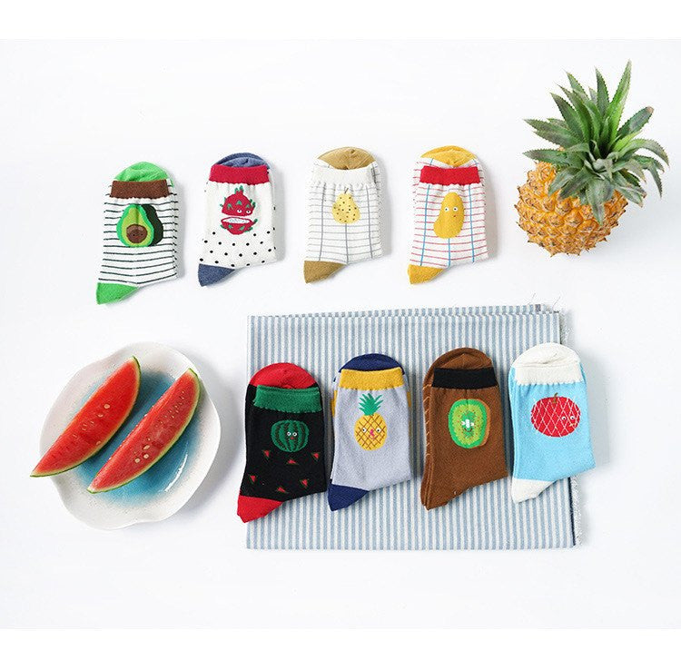 Fruit Socks - Soft Accessories - Online Aesthetic Shop - 10