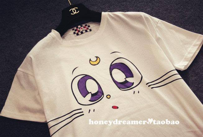 Kawaii Anime Kitty T-Shirt - Online Aesthetic