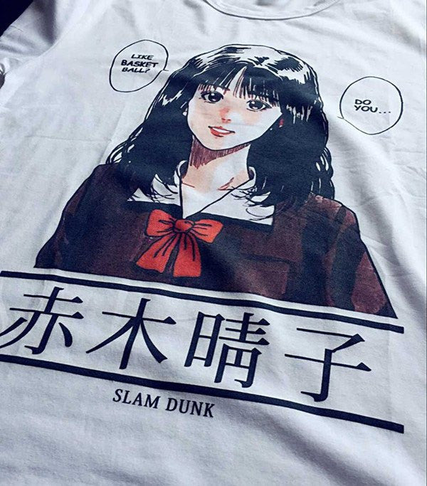 Slam Dunk Manga T-Shirt - Clothes - Online Aesthetic Shop - 1