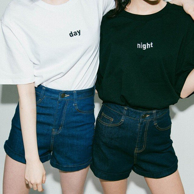 Night & Day T-Shirt - Clothes - Online Aesthetic Shop - 9