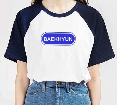 Exo Member's K-POP T-Shirt - T-Shirt - Online Aesthetic Shop - 15