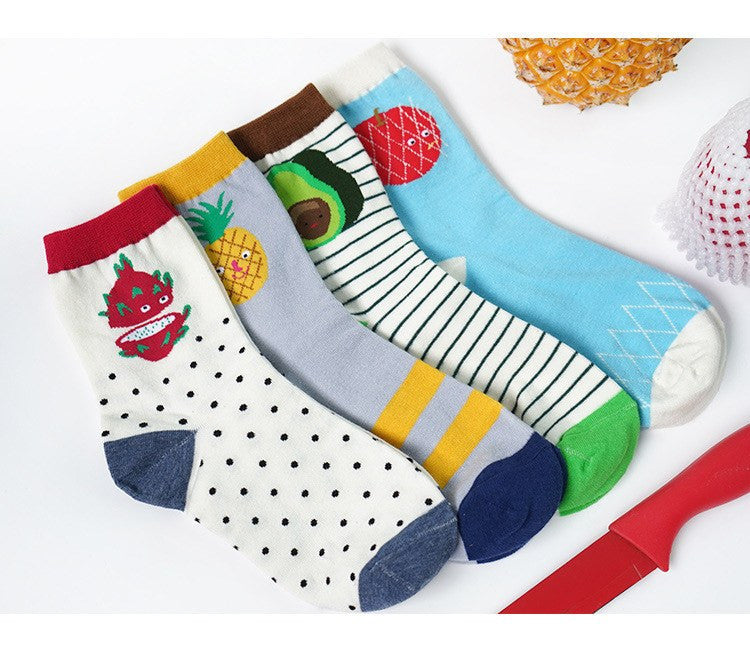 Fruit Socks - Soft Accessories - Online Aesthetic Shop - 13