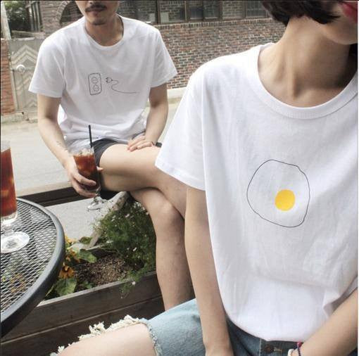 Minimal Egg T-Shirt - Online Aesthetic -  Tumblr Kawaii Aesthetic Shop Fashion