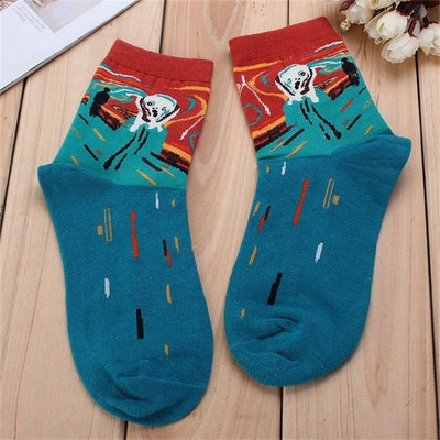 Modern Art Socks - Online Aesthetic -  Tumblr Kawaii Aesthetic Shop Fashion