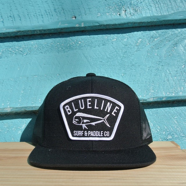 Flat Bill Mahi Hat Black\Black