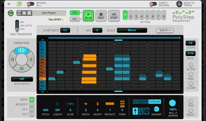 New! PolyStep Sequencer RE