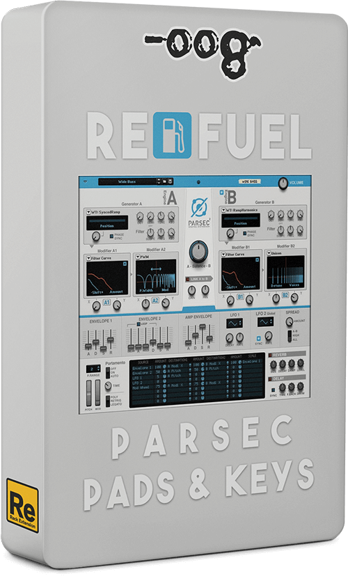 RE Fuel - Parsec Pads & Keys