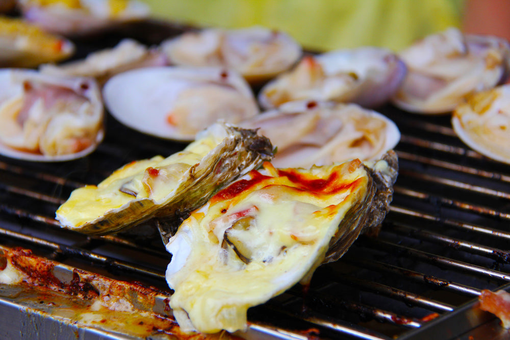 Oysters & Fire – A Magical Combination