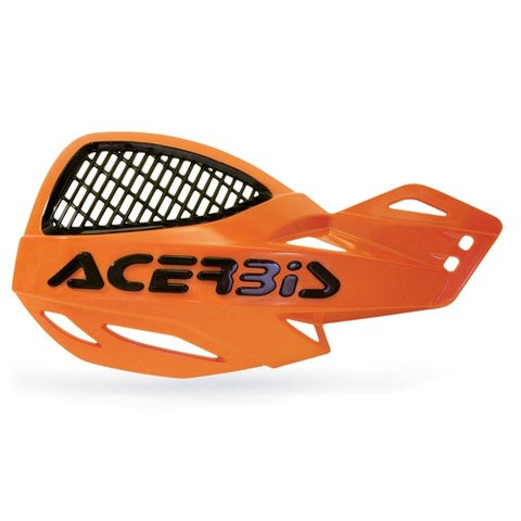 ACERBIS UNIKO VENTED HANDGUARDS - ORANGE BLACK