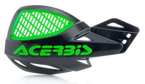 ACERBIS UNIKO VENTED HANDGUARDS - BLACK GREEN