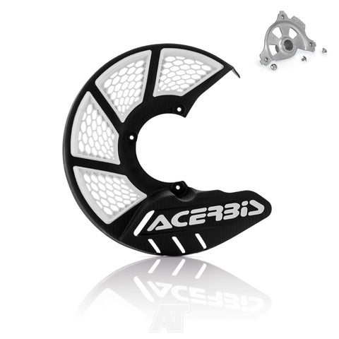Acerbis X-Brake Vented Disc Cover Guard Kit Black White