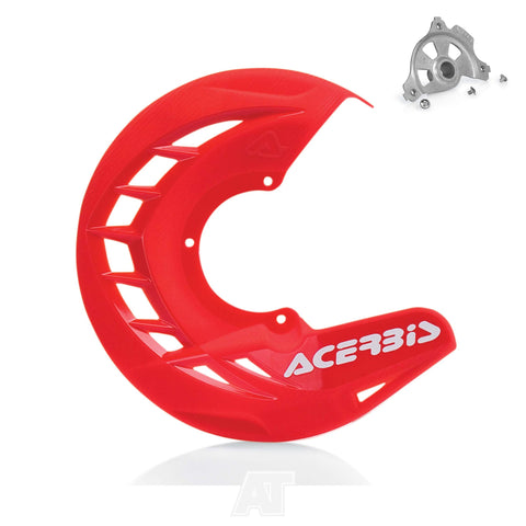 Acerbis X-Brake Front Disc Cover Guard Red