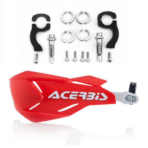 Acerbis X Factory Handguards Red White