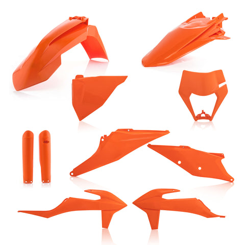Acerbis KTM Plastic Kit EXC EXCF - Orange