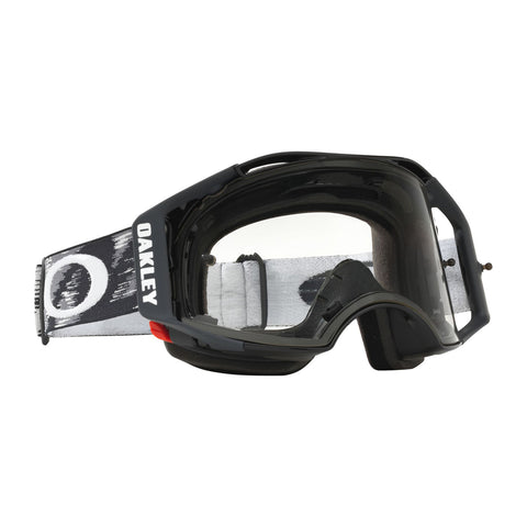 Oakley Airbrake MX Goggle (Jet Black Speed) Clear Lens
