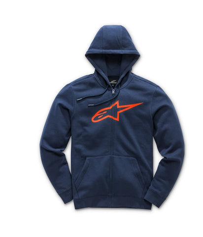 Alpinestar Ageless 2.0 Casual Fleece Hoodie - Navy Orange
