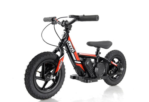 "REVVI 12"" ELECTRIC KIDS BIKE - RED"
