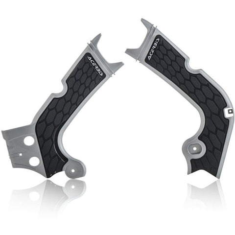 Acerbis Honda X-Grip Frame Guards CRF - Grey