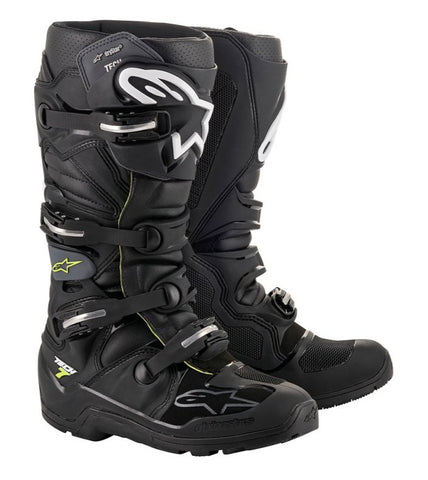 ALPINESTARS TECH 7 ENDURO DRYSTAR BOOTS BLACK