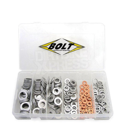 Bolt Hardware Drain Plug Washer Assortment Box