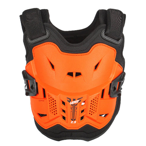 Leatt 2.5 Kids Chest Protector in Orange White
