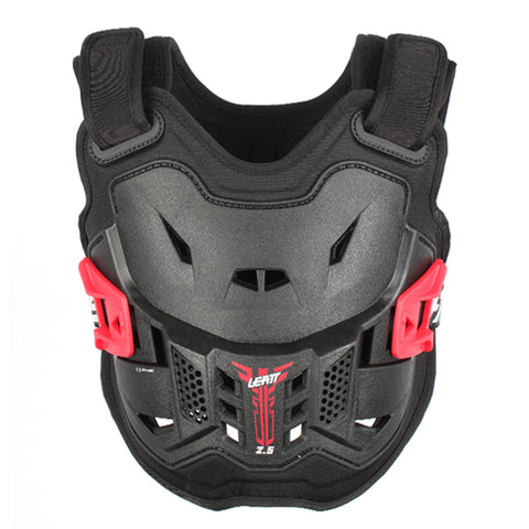 Leatt 2.5 Kids Chest Protector in Black Red