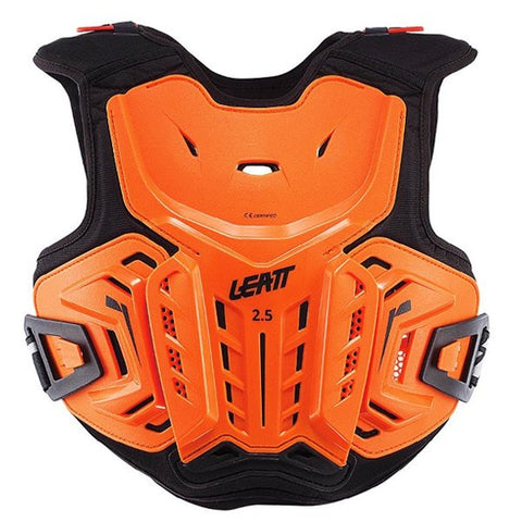 Leatt 2.5 Junior Chest Protector - Orange Black