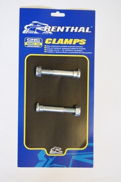 CLAMP BOLT KIT RENTHAL 12 X 68MM