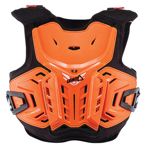 Leatt 4.5 Junior Chest Protector - Orange Black