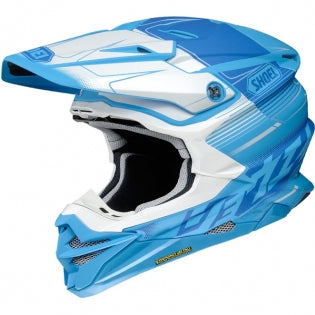 2018 Shoei VFX-WR Helmet - Zinger Blue TC2