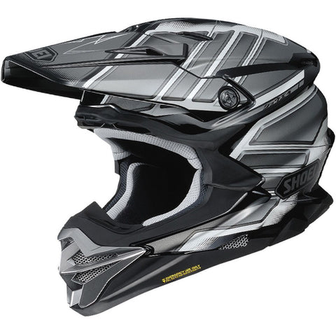 2018 Shoei VFX-WR Helmet - Glaive Grey TC5