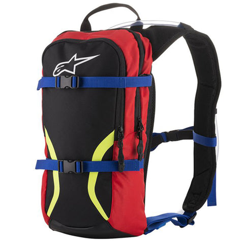 Alpinestars Iguana Black Blue Red Yellow Flo White Hydration Bag