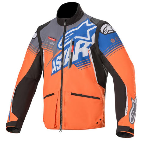 Alpinestars Venture R Enduro Jacket Orange Grey Blue
