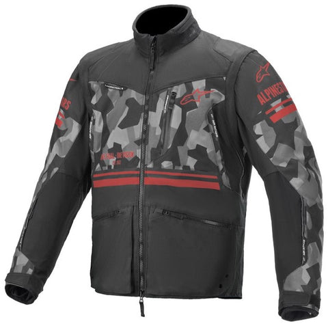 Alpinestars Venture R Enduro Jacket Mud Camo Red