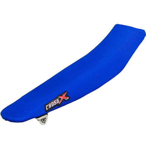 CrossX Solid Yamaha Blue Seat Cover