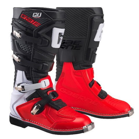 Gaerne GXJ Kids Motocross Boots - Black Red