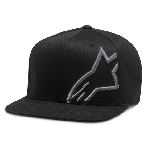 Alpinestar Corp Snap Back Casual Hat - Black Charcoal
