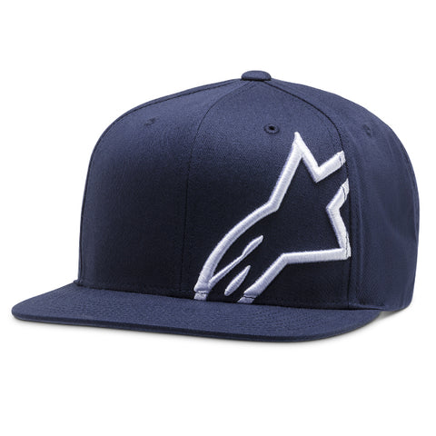 Alpinestar Corp Snap Back Casual Hat - Navy White