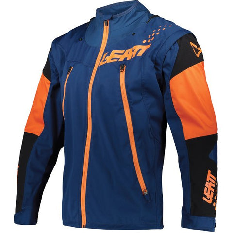 Leatt Moto 4.5 Lite Enduro Jacket - Orange Blue