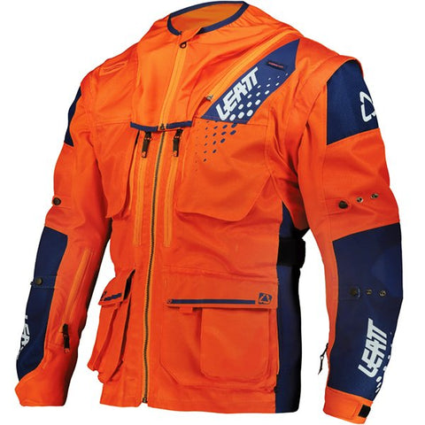 Leatt Moto 5.5 Enduro Jacket - Orange Blue