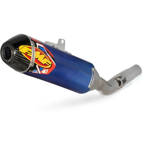 FMF 4.1 Blue Titanium Factory Slip On Silencer - Honda CRF