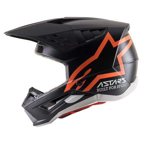 ALPINESTARS HELMET SUPERTECH SM5 COMPASS BLACK/ORANGE