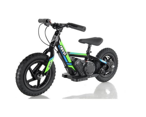 "REVVI 12"" ELECTRIC KIDS BIKE - GREEN"